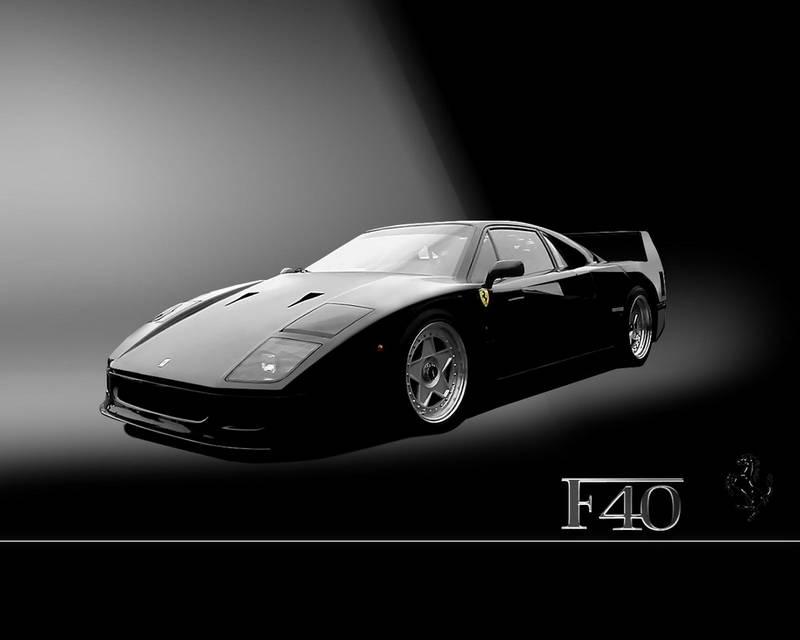 2.Ferrari F40 di Pininfarina