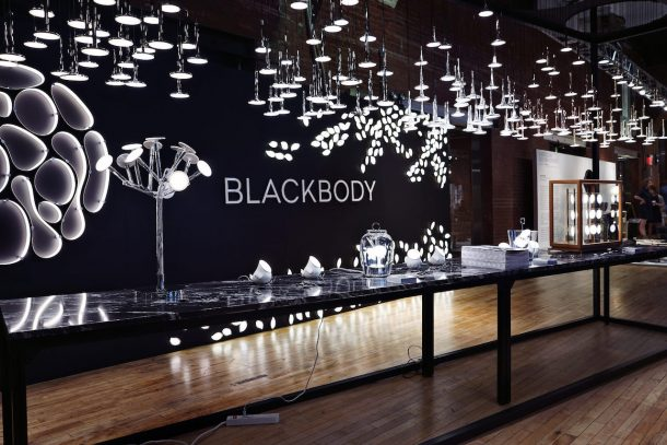 BLACKBODY Oled lamps