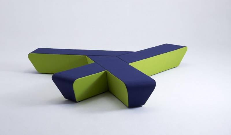 Runway, il pouf dalle composizioni infinite