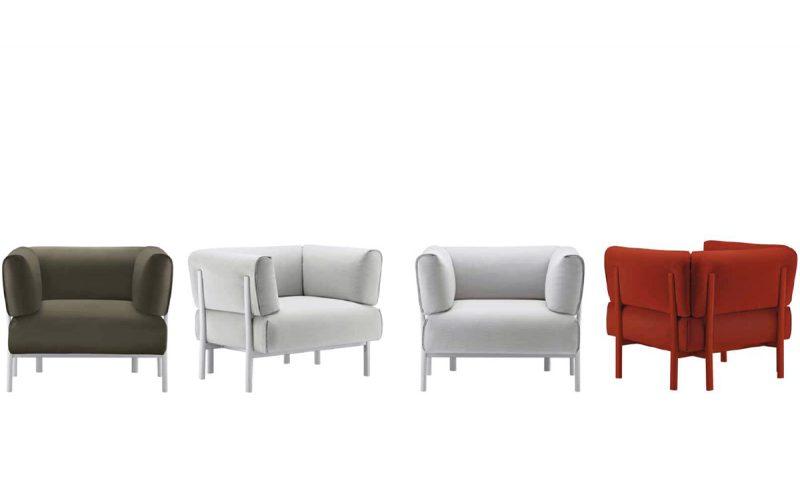 Eleven armchair by Alias