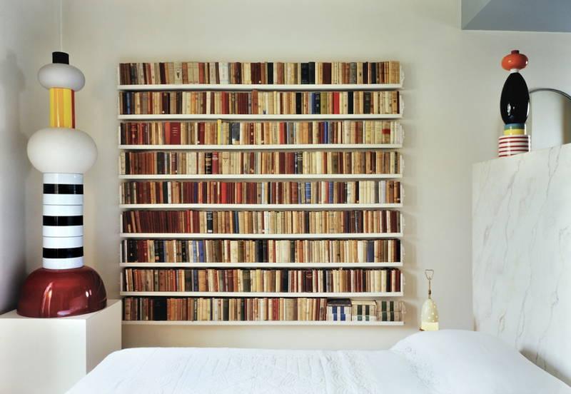 Vivere con i libri design street - Libreria camera da letto ...