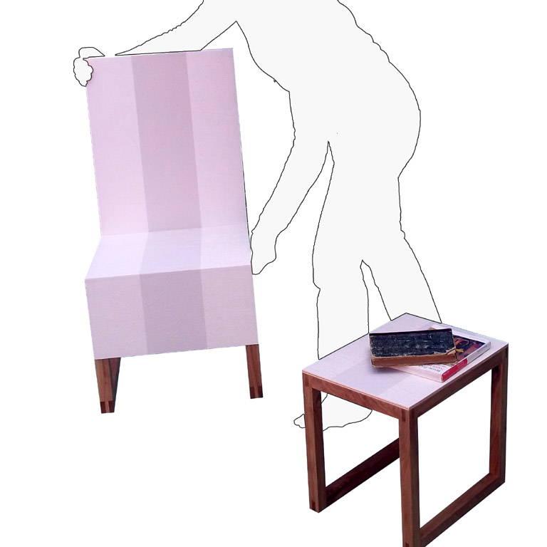 Da sedia a poltrona e tavolino in due mosse design street for Tavolino e sedia montessori