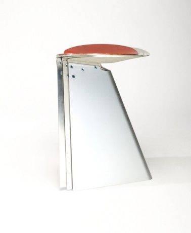 sgabelli impilabili in alluminio