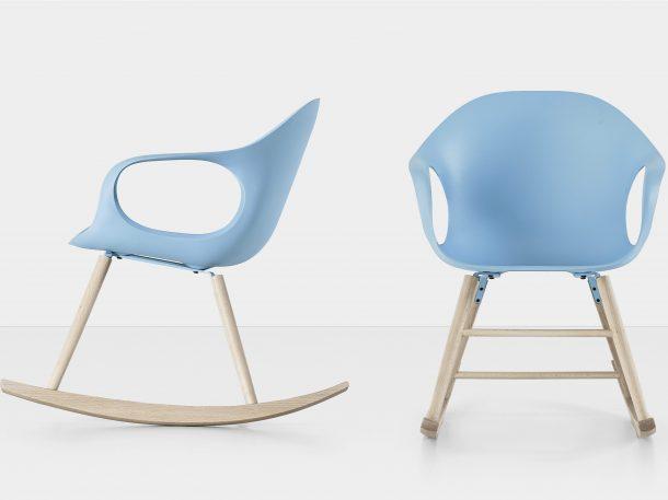 Sedie a dondolo di design: Kristalia