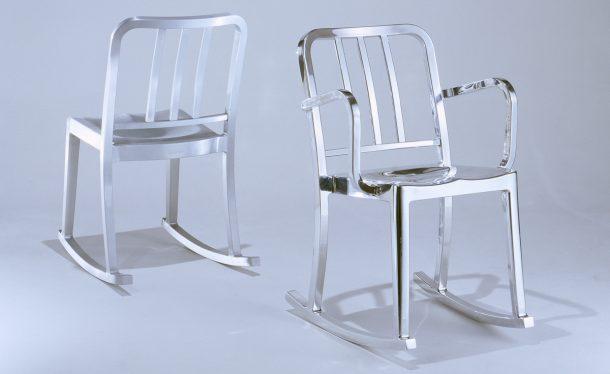 Sedie a dondolo di design: Emeco
