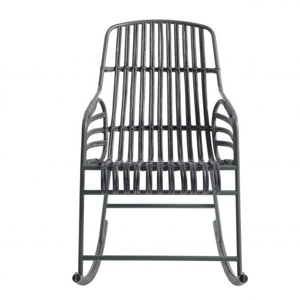 Sedie a dondolo di design: Raphia di Casamania