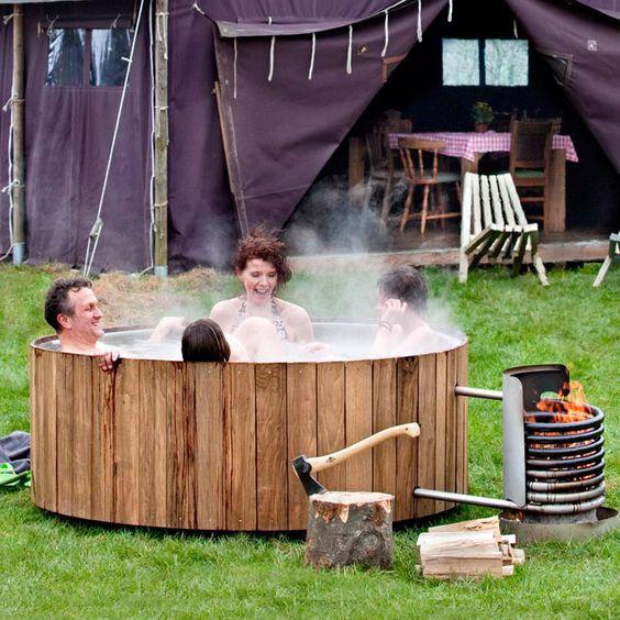 Dutchtub, la vasca riscaldata per l'outdoor