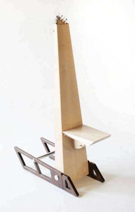 Euridice, la sedia per la musicoterapia