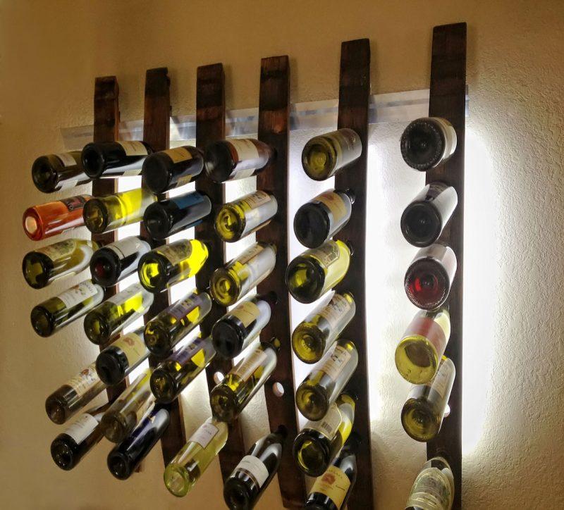 Lumi wine rack