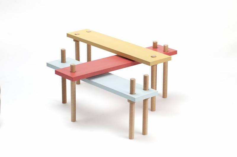 """Avvitamenti, i mobili """"a vite"""" di Carlo Contin"""