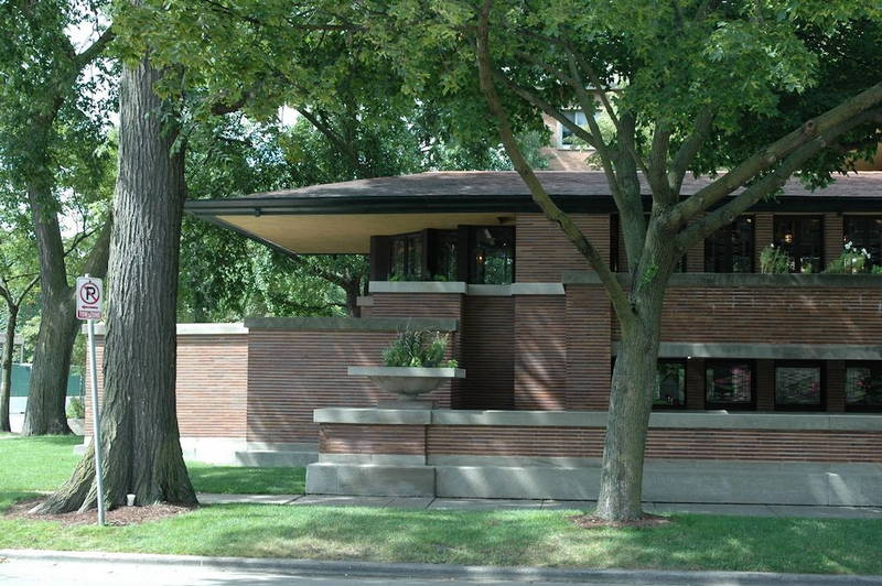 Frank lloyd wright tour a chicago e dintorni design street for Frank lloyd wright piani per la casa