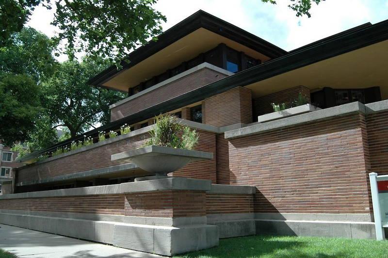 Frank lloyd wright tour a chicago e dintorni design street for Franco piani di lloyd wright