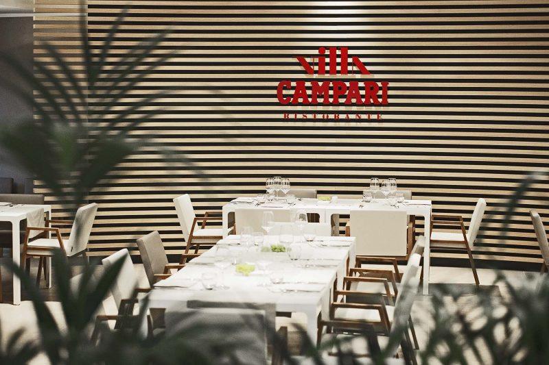 Il ristorante Villa Campari a Sesto S. Giovanni (MI)