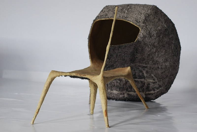 Nacho Carbonell Evolution The Bench seduta Courtesy Galleria Rossana Orlandi