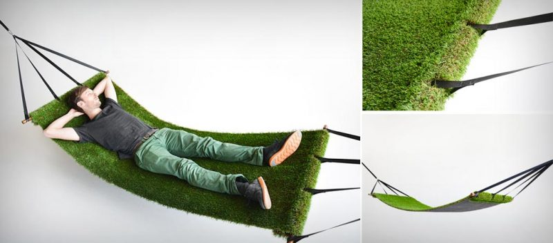 Grass Field Hammock by Studio Toer