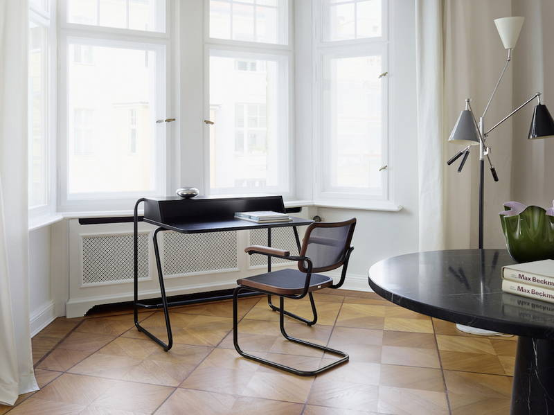 Lo scrittoio per l'home office S 1200 di Thonet