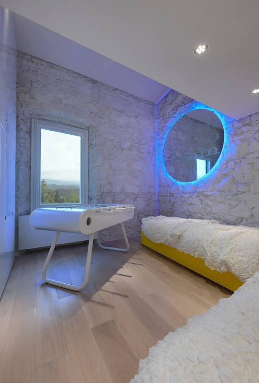 La villa toscana di design dell'architetto Simone Micheli