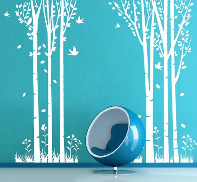 adesivi murali prespaziati