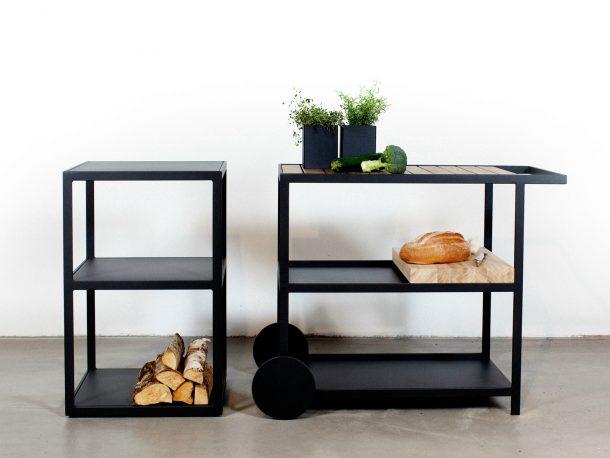 Roshults bbq la cucina dal design minimale per l 39 outdoor - Carrelli x cucina ...