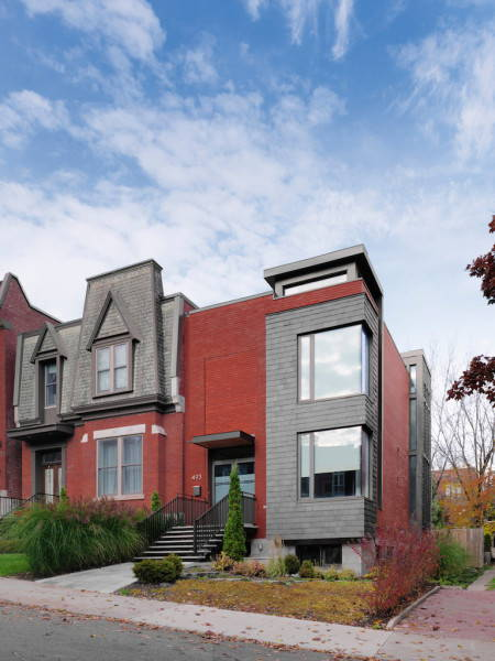 villa a Montreal by Riva Architects