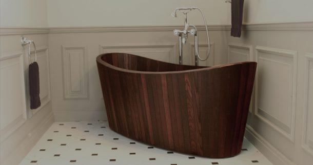 Vasca Da Bagno Artigianale : Khis bath tub la vasca da bagno in legno di ispirazione zen