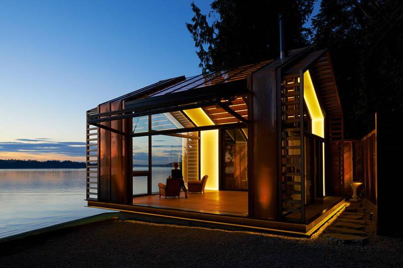Un rifugio sull'Oceano Pacifico