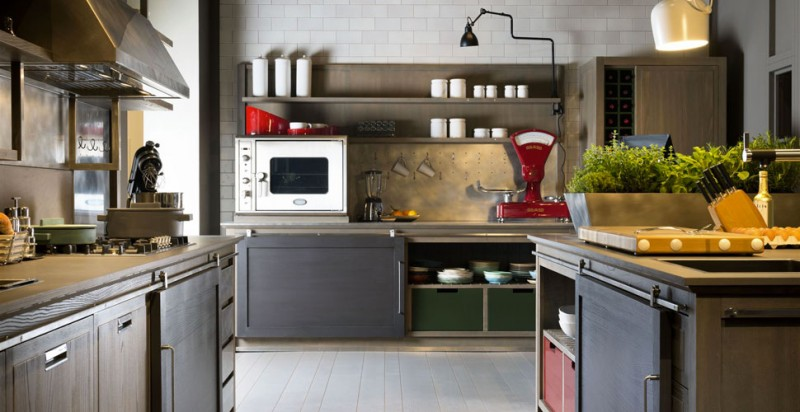 INDUSTRIAL CHIC KITCHEN BY L'OTTOCENTO