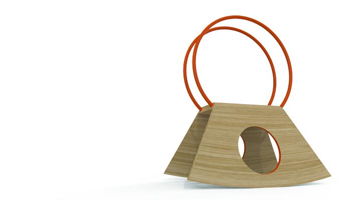 Cavallo A Dondolo Design.Un Cavallo A Dondolo Minimale Design Street