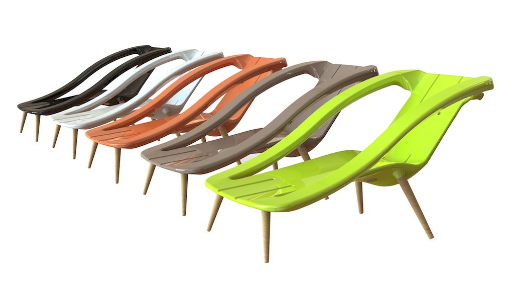 Sedie A Sdraio Per Interni.Una Sedia A Sdraio Di Design Per Interni Ed Esterni