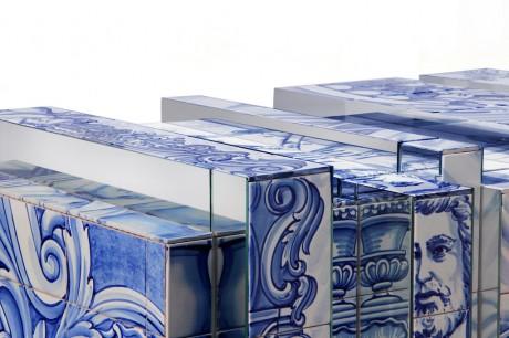 un mobile con Azulejos