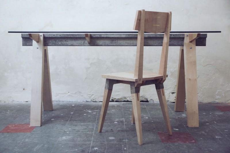 Beam Table by Temper Studio