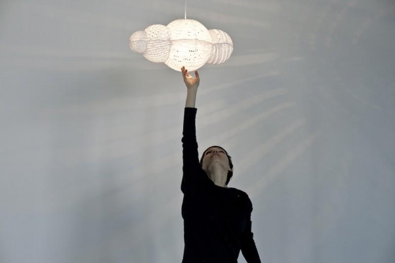 Sugarcloud: la lampada Nuvola