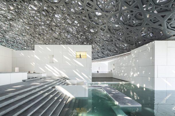 Il museo Louvre di Abu Dhabi