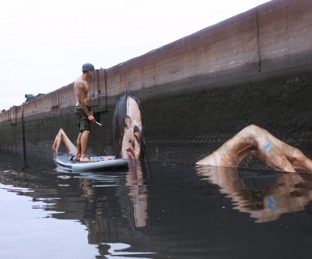 I murales acquatici di Hula