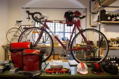 Ciclosfuso, bici, vino