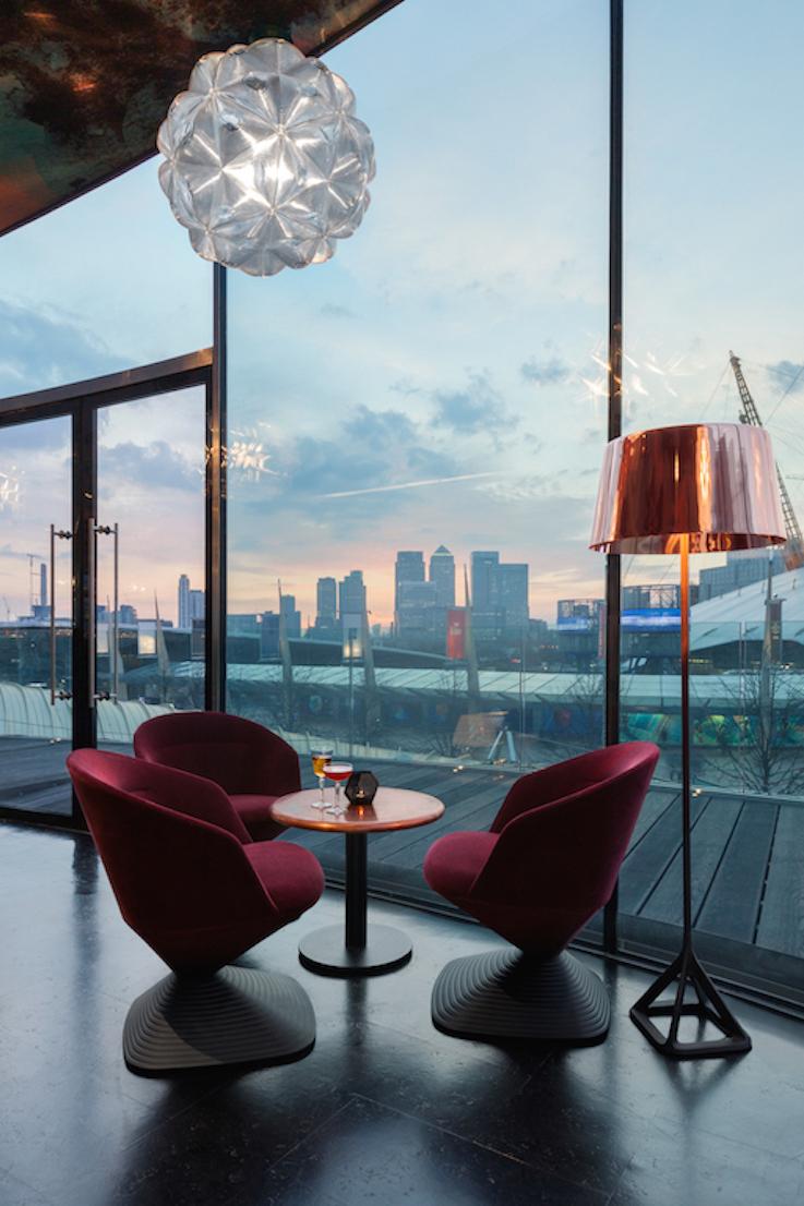 Tom_Dixon restaurant Craft London, ristorante di Tom Dixon
