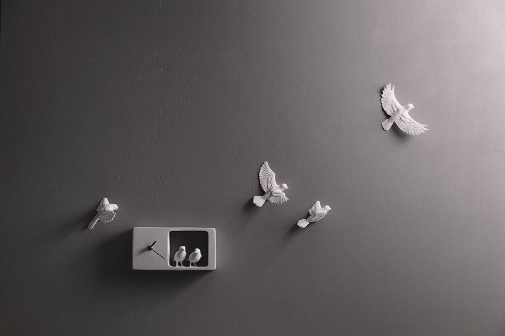 Sparrow Clock