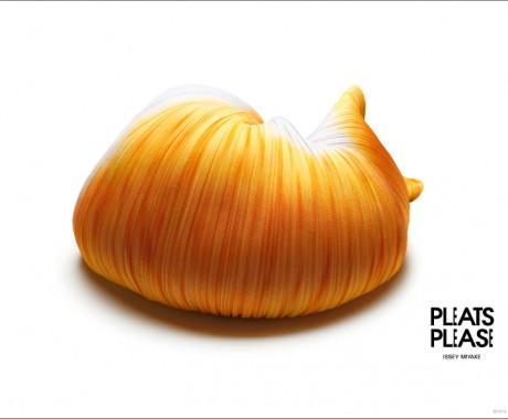 Gli animali di Pleats Please Issey Miyake
