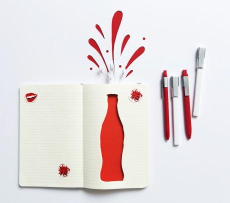Coca Cola e Moleskine