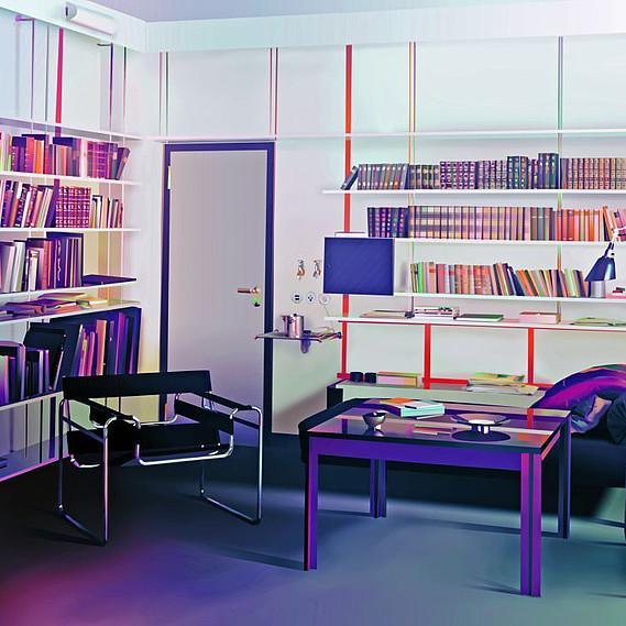 il bauhaus si mette in mostra al vitra design museum. Black Bedroom Furniture Sets. Home Design Ideas