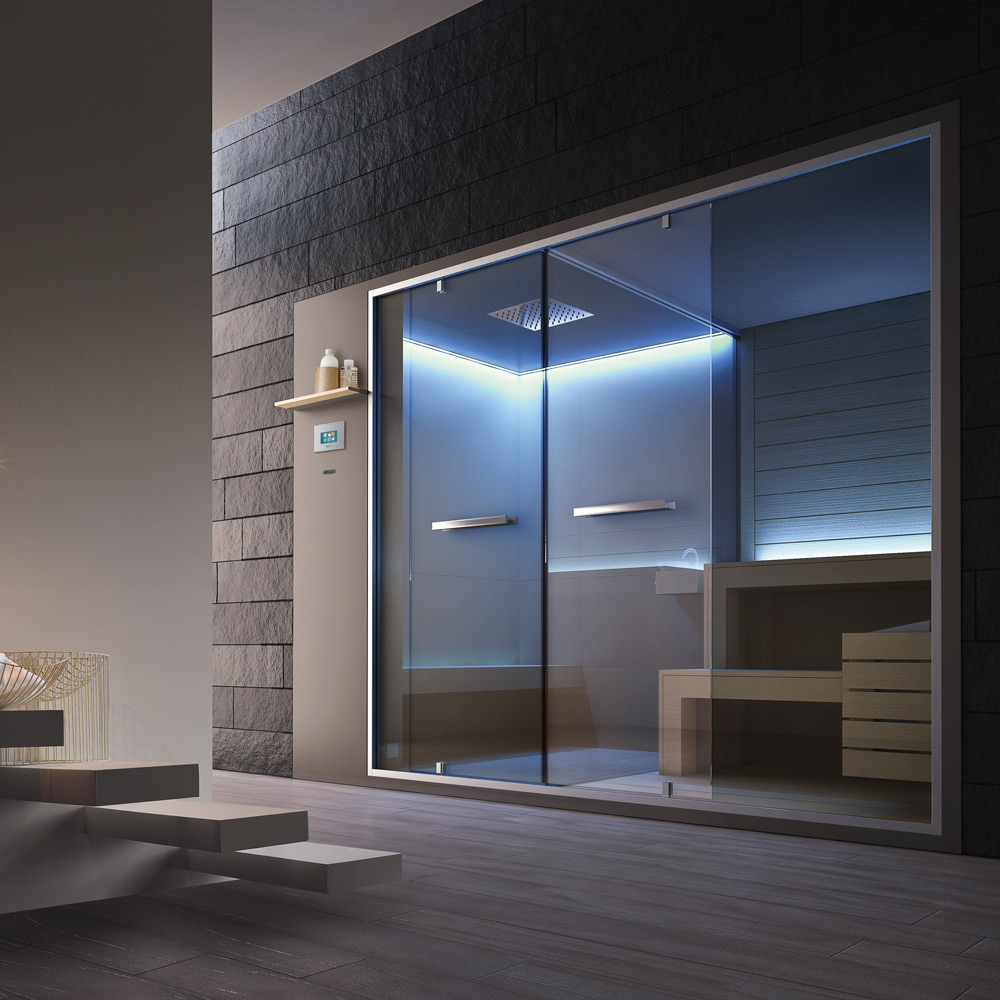 Great vi piace luidea di una spa in casa with sauna da casa - Costo sauna in casa ...