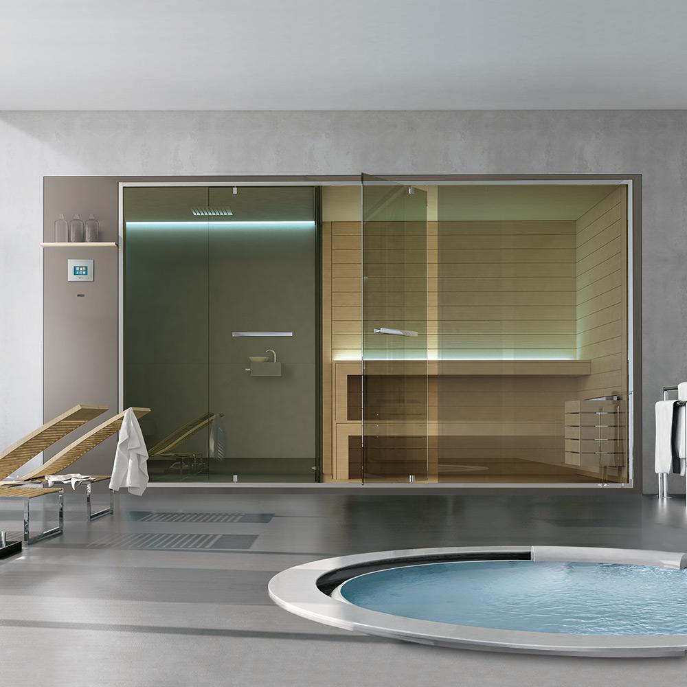 Vi piacerebbe l 39 idea di una spa in casa for Costruire una sauna in casa