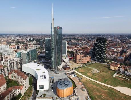 Unicredit Pavilion Milano Porta Nuova De Lucchi
