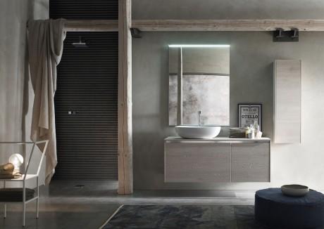 I mobili da bagno E.Gò Nodo della serie AK di Arcom