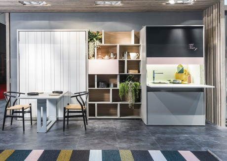 Kitchen box la cucina monoblocco per piccoli spazi - Cucine componibili per piccoli spazi ...