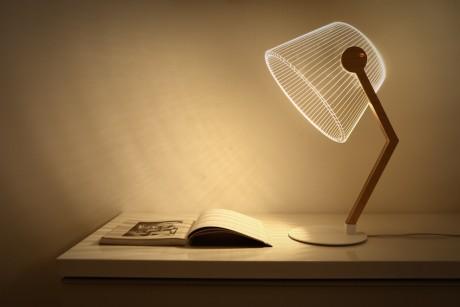 Illusioni ottiche nelle lampade di Bulbing