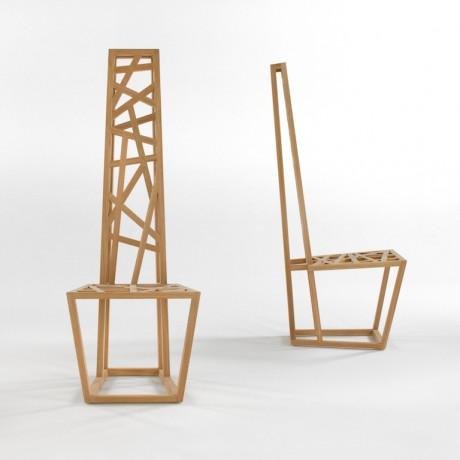 Due mobili scultura disegnati da Samuel Chan