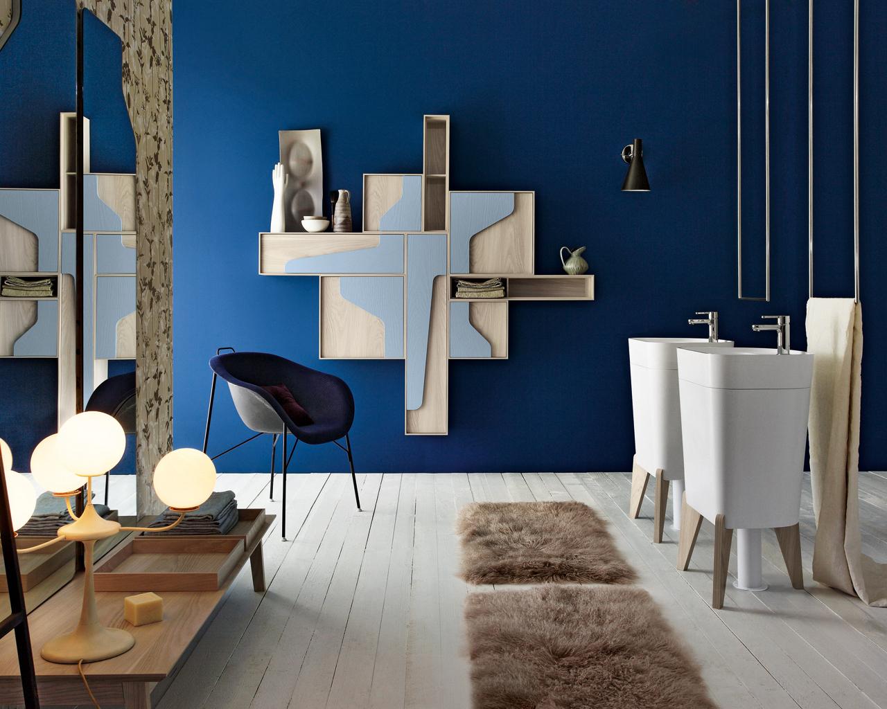 Una stanza da bagno vintage in stile anni 50 for Stanza da bagno