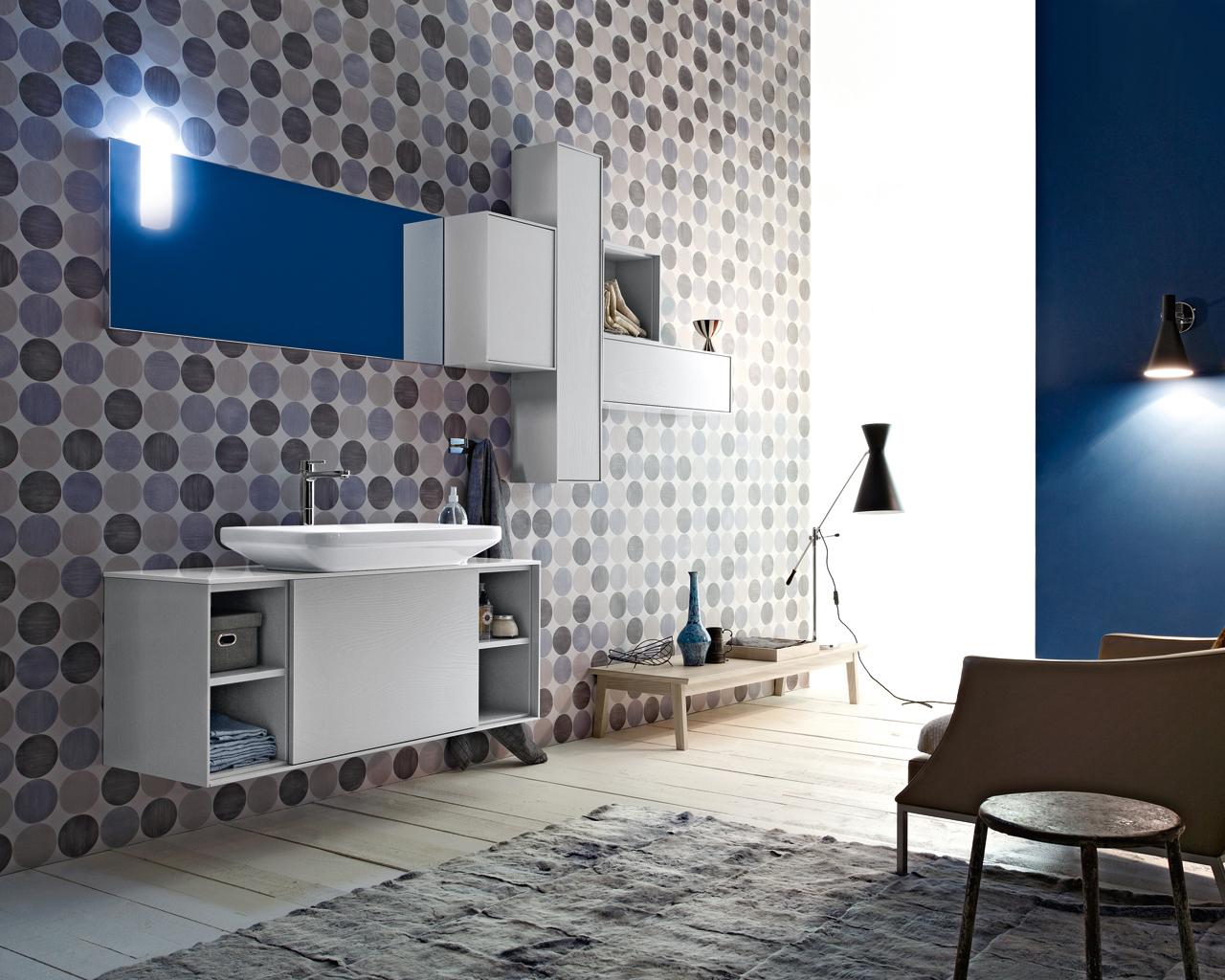 Una stanza da bagno vintage in stile anni 50 for Arredamento di design on line