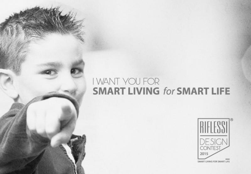 Concorso di design Riflessi Premio nazionale Smart Living for Smart Life